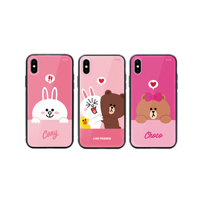 GARMMA  LINE FRIENDS iPhone XR 6.1 XS MAX 6.5 鋼化玻璃殼