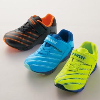 【格安-子供用靴】キッズ幅広サッカータイプボーイズスニーカー