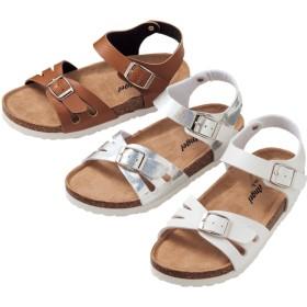 【格安-子供用靴】ジュニア足裏形状インソールコンフォートサンダル