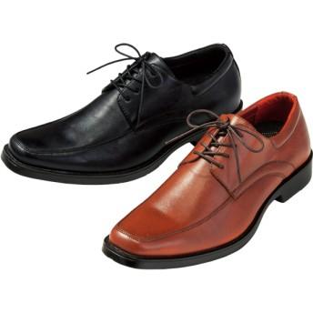 【格安-男性靴】メンズ通気穴付ヴィンテージ加工ビジネスシューズ