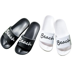【格安-女性靴】レディースロゴ入りシャワーサンダル