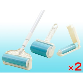 【正規品】シュティッキー - シュティッキー ダブルセット <Shop Japan(ショップジャパン)公式>洗って使えば何度も使用可能なお掃除ローラー。
