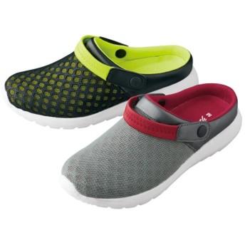 【格安-男性靴】メンズ軽量2WAYちょい履きカジュアルスニーカー