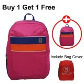 Tasbagcoversoftcasebackpack Laptop Priawanita Double X 12 Inch Purple Free Ultimate Cable Pouch;