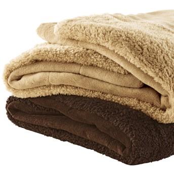中綿入りもこもこ毛布(シングル)