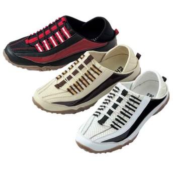 【格安-男性靴】メンズ2WAYキックバックタイプスニーカー