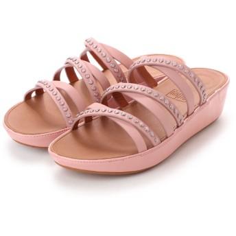 フィットフロップ FitFlop LINNY SLIDE SANDALS - CRYSTAL (Dusky Pink)