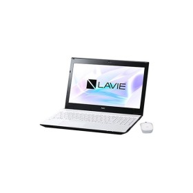 NEC 【オフィス付】LAVIE Smart NS(S)Corei3・4GB・HDD1TB+NAND型フラッシュメモリ ホワイト PC-SN242FRAB-4