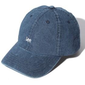 リー Leeロゴ CAP レディース ブルー FREE 【LEE】
