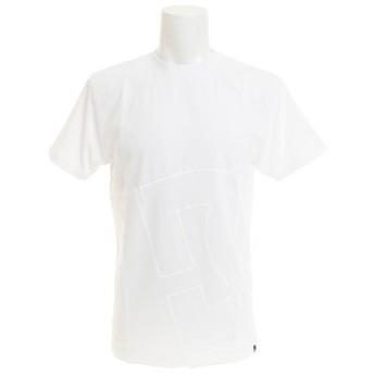 ディーシー・シュー(DC SHOE) 18 BIG LOGO 半袖Tシャツ 18SP5126J813WHT (Men's)