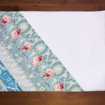 Tildaの布のランチョンマット(ブルー)