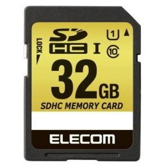 ELECOM MF-CASD032GU11A SDHCカード 車載用 MLC UHS-I 32GB SDHCメモリーカード