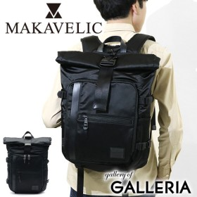 P19倍★6/19 23:59まで マキャベリック リュック MAKAVELIC バックパック LIMITED EXCLUSIVE ROLLTOP BACKPACK 大容量 3108-10105 黒 メンズ
