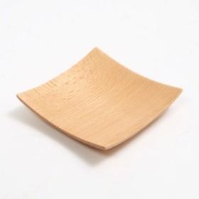 天然木製 ブナの木 スクエアプレート