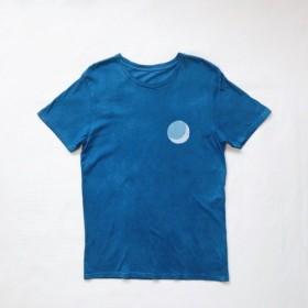 三日月 BLUE MOON 藍染オーガニックコットン