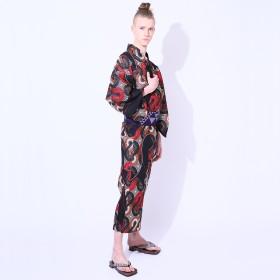 浴衣 - MINE CUBE YOKAYOKA メンズ 浴衣 単品 螺旋