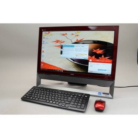 [中古] NEC LAVIE Desk All-in-one DA370/CAR PC-DA370CAR クランベリーレッド
