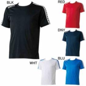 【キャッシュレスでP5%還元】 アリーナ 水泳 水球 プラクティスシャツ Tシャツ チームラインTシャツ  arena ARN-6331
