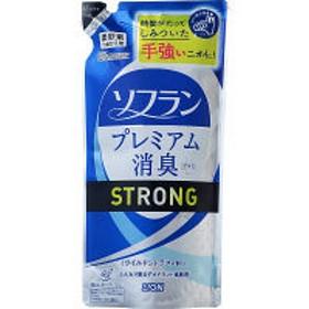ソフラン プレミアム消臭プラス ストロング 詰め替え 450ml 1個 柔軟剤 ライオン
