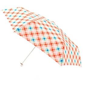 晴雨兼用 折りたたみ傘 おぼろドット