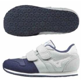 ミズノ キッズ 子供靴 スニーカー ランキッズ 5  チョコバニラ  MIZUNO K1GD173307