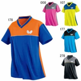 【キャッシュレスでP5%還元】 バタフライ 卓球 ユニホーム ゲームシャツ ドイスライト シャツ ユニセックス 45270