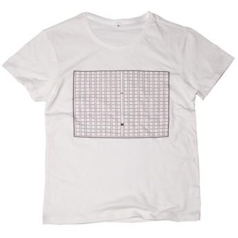原稿用紙 おもしろデザインTシャツ ユニセックスXS XLサイズ Tcollector