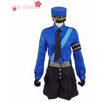 ペルソナ5 Persona5 P5 Caroline Justine 双子の看守 風 コスプレ衣装  cosplay ハロウィン 仮装