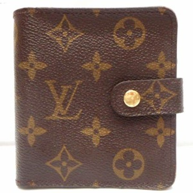 wholesale dealer 06252 b137e ルイヴィトン Louis Vuitton モノグラム コンパクトジップ ...