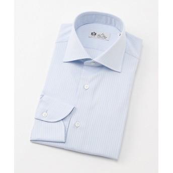 <LA FETE BLEU/ラフェッタブルー> ワイドドレスシャツ(LF8-W-003) アオ 【三越・伊勢丹/公式】