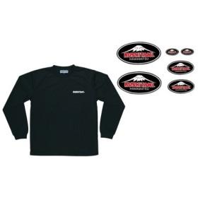 ドライロングスリーブTシャツ&ステッカーキット M