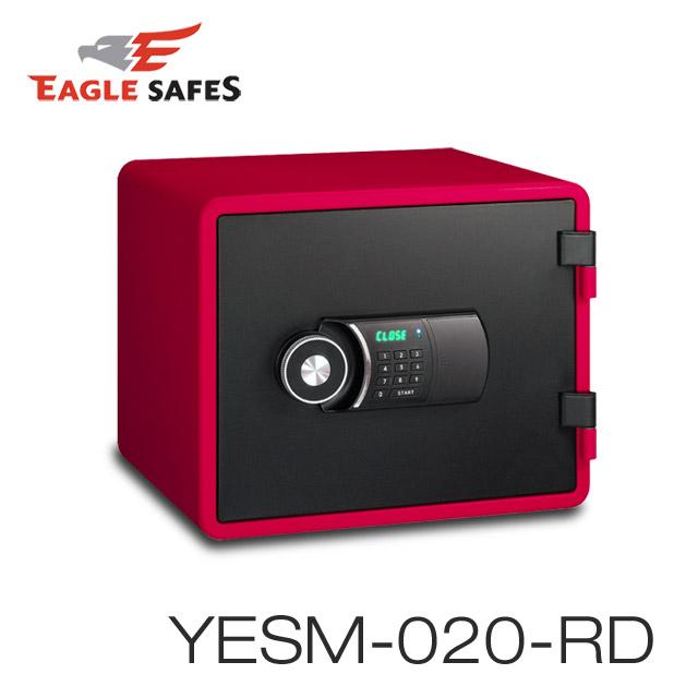 Eagle Safes 韓國防火金庫 保險箱 (YESM-020-RD)(魅力紅)