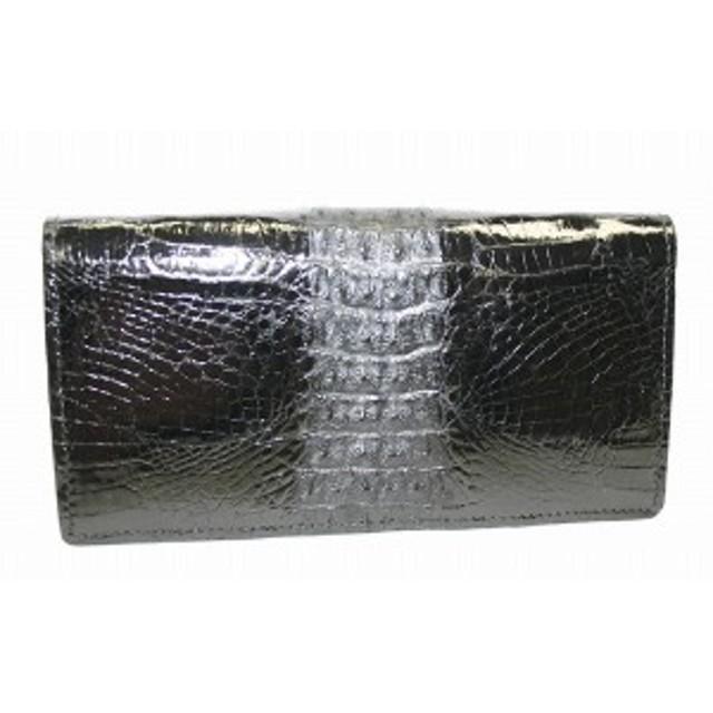 753b7ae420d4 財布 長財布 ワニ革 超貴重なワニ革を贅沢に使った高級財布 全2色 送料 ...