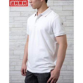【送料無料!】モンクレール 83051 004 ホワイト サイズ M メンズ ポロシャツ 【MONCLER WH】
