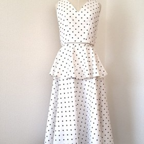 Polka Dot Blouse and Skirt *ドットスカートセットアップ*