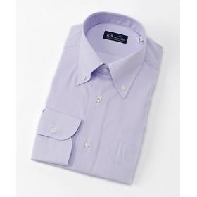 <LA FETE BLEU/ラフェッタブルー> BDドレスシャツ(LF6-B-113) パープル 【三越・伊勢丹/公式】