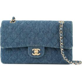 79fe8903183b Chanel Pre-Owned デニム ショルダーバッグ - ブルー 通販 LINEポイント ...