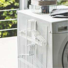山崎実業 タワー マグネット洗濯ハンガー収納フック S ホワイト 3690