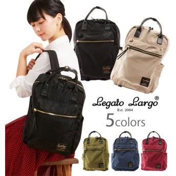 Legato Largo レガートラルゴ 合皮×高密度ナイロン 10ポケットリュック LH-C1793