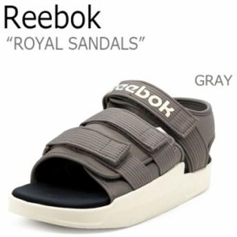 リーボック サンダル REEBOK メンズ レディース ロイヤルサンダル ROYAL SANDAL GRAY グレー CN5495 シューズ