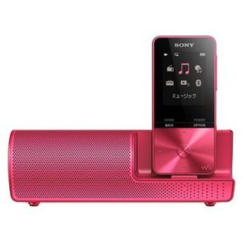 ソニー ウォークマン S310シリーズ 16GB(ビビッドピンク)[スピーカー付属モデル] SONY Walkman NW-S315K P 返品種別A