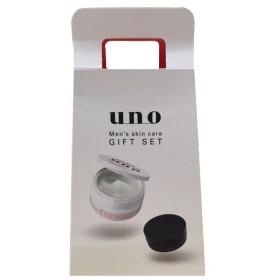 UNO(ウーノ)ギフトセット クリームパーフェクションオールインワンジェル90g+ハイブリッドハードワックスミニ15g+スキンセラムウォーター2mL×2 資生堂