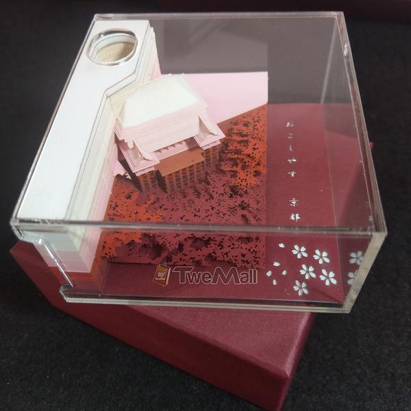 立體模型便條紙/便利貼 日本清水寺 全新現貨