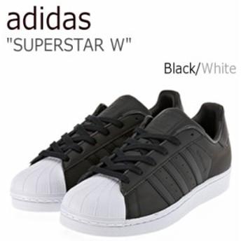 アディダス スニーカー ADIDAS メンズ レディース SUPERSTAR W BLACK WHITE ブラック ホワイト シューズ BY9176 シューズ