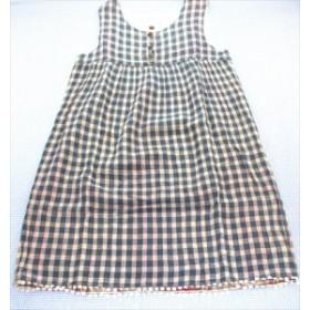 キッズ トップス フィス FITH ワンピース 160cm チェック 紺/白系 女の子 ジュニア 中古 子供服 通販 買い取り
