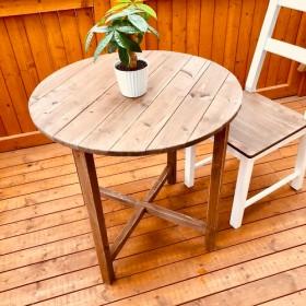 送料無料・丸テーブル・ラウンドテーブル・カフェテーブル・ガーデンテーブル・サイドテーブル