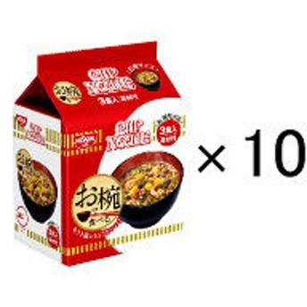 日清食品 お椀で食べるカップヌードル 3食パック×10個