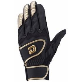 DeMARINI(ディマリニ) バッティンググラブ GRITE (グリテ) 両手用 WTABG0304 ブラック×ゴールド XL