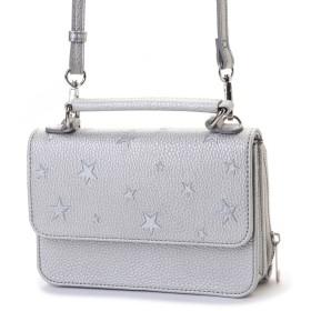 PASSE-DIX パスディス 星刺繍お財布ショルダーバッグ