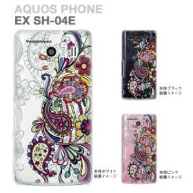 【AQUOS PHONE EX SH-04E】【IGZO】【イグゾー】【ケース】【カバー】【スマホケース】【クリアケース】【Vuodenaika】【フラワー】 21-